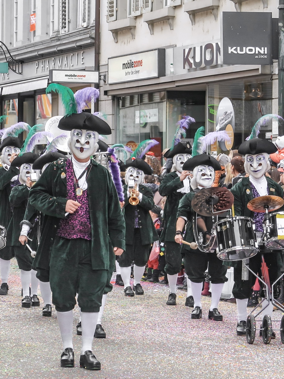 Starting March with Fasnacht in Baden